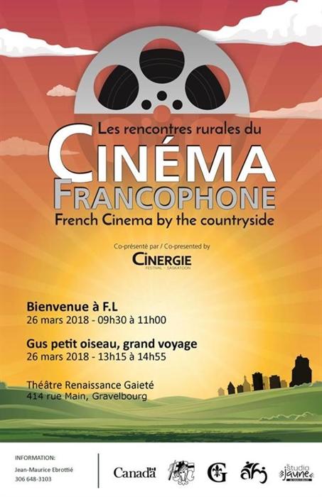 Rencontres rurales du cinéma à Gravelbourg