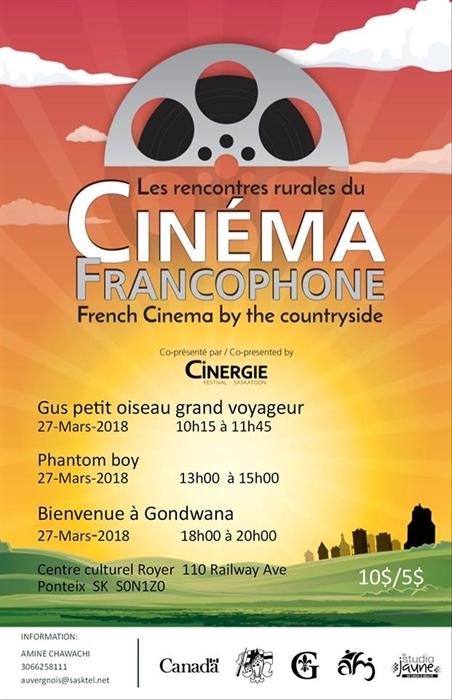 Rencontres rurales du cinéma à Ponteix