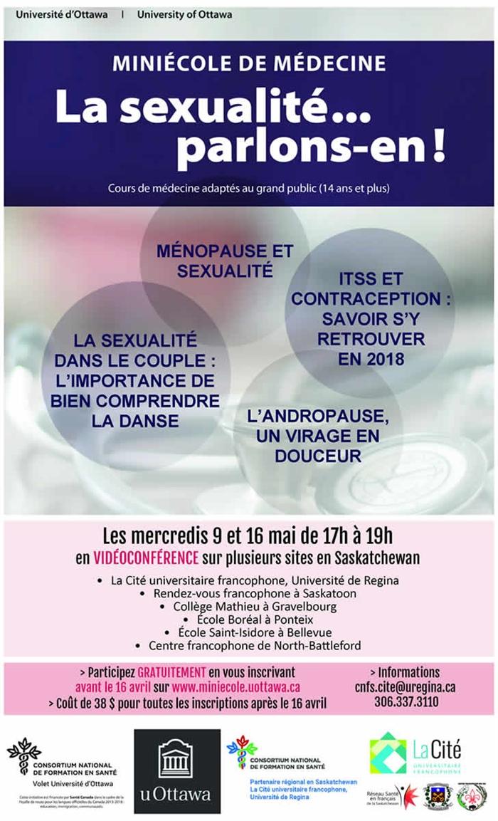 Mini-école de médecine: la sexualité... parlons-en
