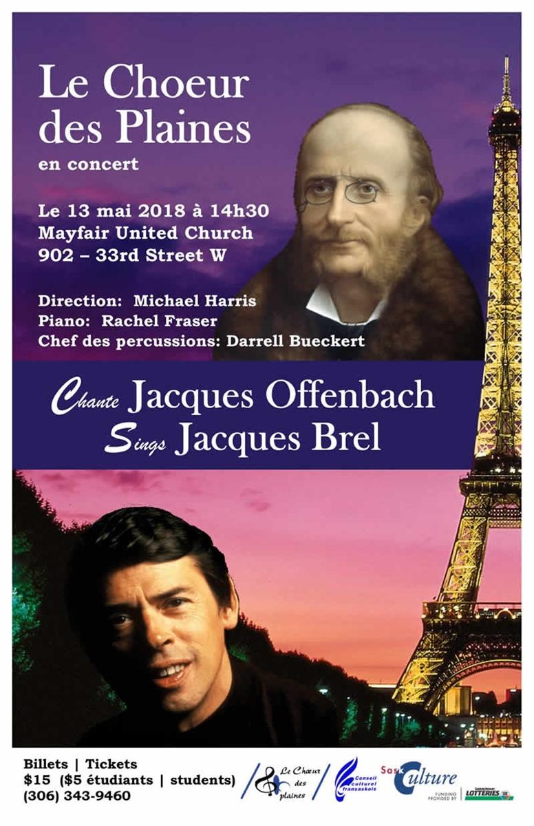 Concert Offenbach et Brel