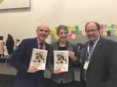 Dévoilement du Plan d'action pour les langues officielles, le 28 mars 2018 à Ottawa