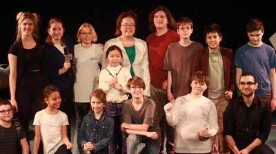 Spectacle de l'École de théâtre de La Troupe du Jour