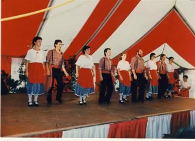 La Ribambelle en spectacle en 1987