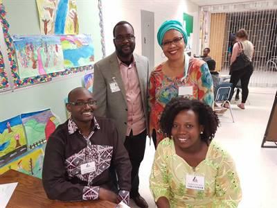 Pavillon africain à Mosaic 2018 à Regina