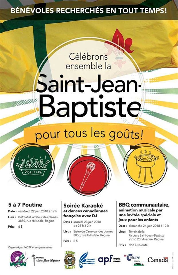 St-Jean-Baptiste 2018 à Regina