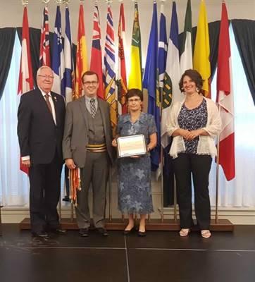 La Société historique de la Saskatchewan honorée par la province