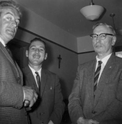 Félix Leclerc en visite en Saskatchewan