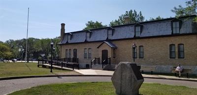 Édifice du Collège Mathieu à Regina
