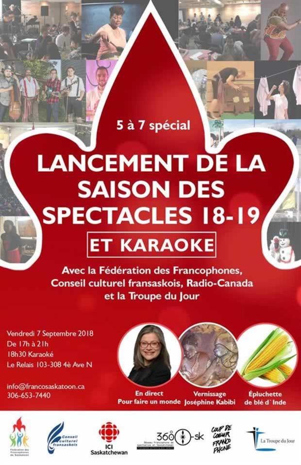 Lancement de la saison de spectacles 2018-19 de la FFS et soirée karaoké
