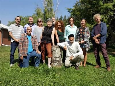 Les participants à l'édition 2018 de la Retraite des écrivains à Muenster