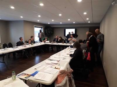 Une Table des élus marquée par la présence des représentants de Patrimoine canadien