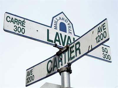Noms de rues à Maillardville