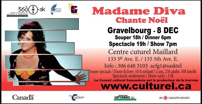 Madame Diva à Gravelbourg