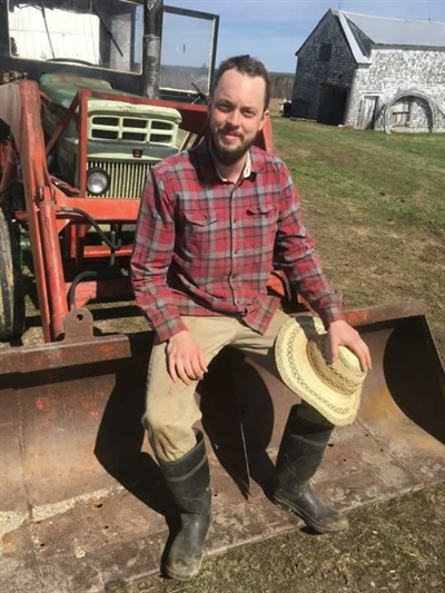 Philippe Gervais, coordonnateur pour les Maritimes à l'Union nationale des fermiers