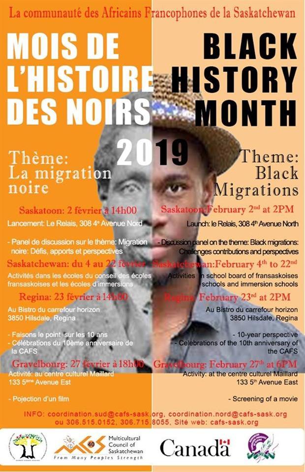 Mois de l'histoire des Noirs 2019