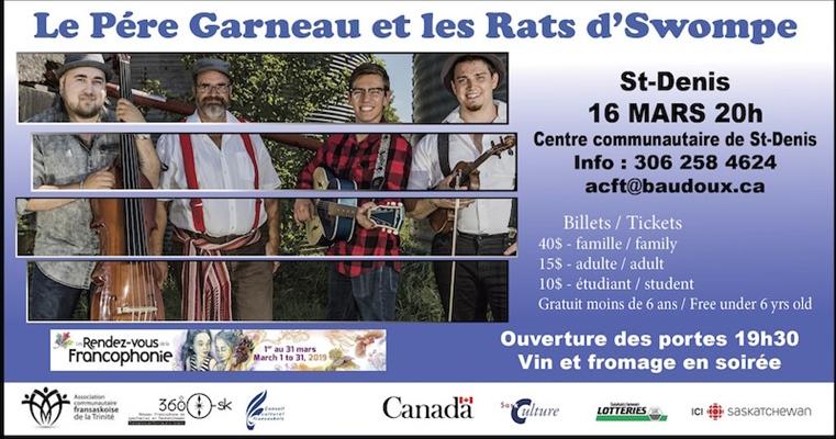 Le Père Garneau et les Rats d'Swompe à St-Denis