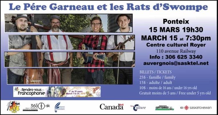Le Père Garneau et les Rats d'Swompe à Ponteix