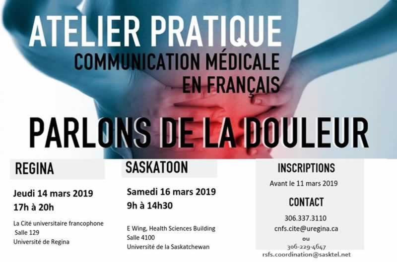 Atelier de terminologie médicale en français : Parlons de la douleur