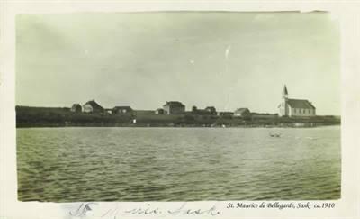 St-Maurice-de-Bellegarde en 1910