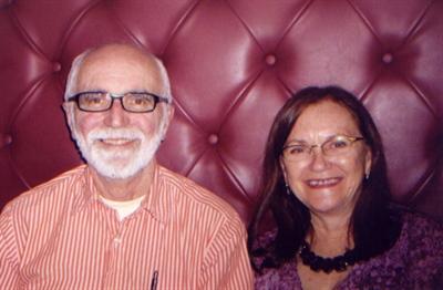 Joe Fafard, en compagnie de sa soeur, Colombe Fafard Chartier, vers 2008