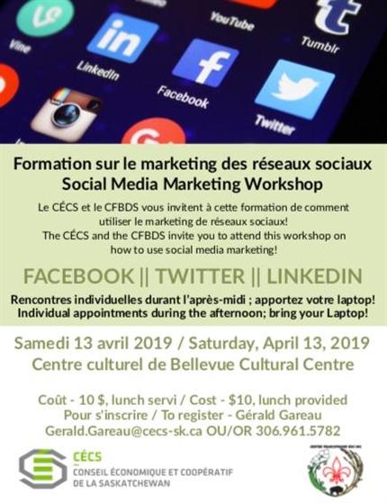 Formation sur le marketing sur les réseaux sociaux à Bellevue