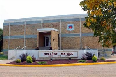 Campus principal du Collège Mathieu à Gravelbourg