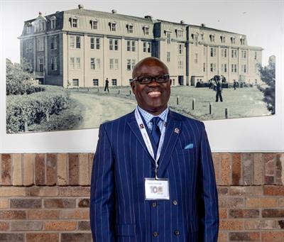 Francis Kasongo, directeur général du Collège Mathieu