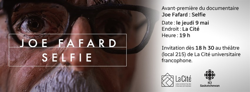 Avant première du documentaire Joe Fafard : Selfie