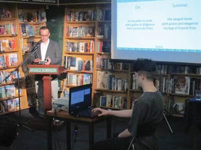 Lancement du recueil Le champ de lin, Haïkus des Prairies à Saskatoon