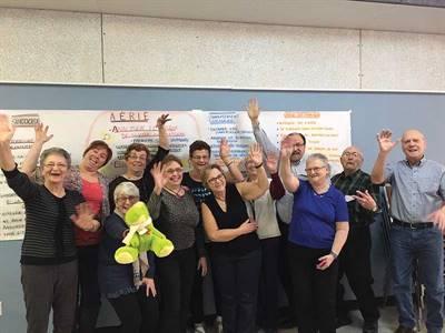 Formation en premiers soins en santé mentale à Debden en janvier 2017