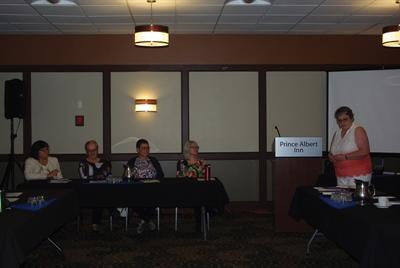 Panel au sujet des personnes aidantes samedi matin avant l'AGA de la FPF