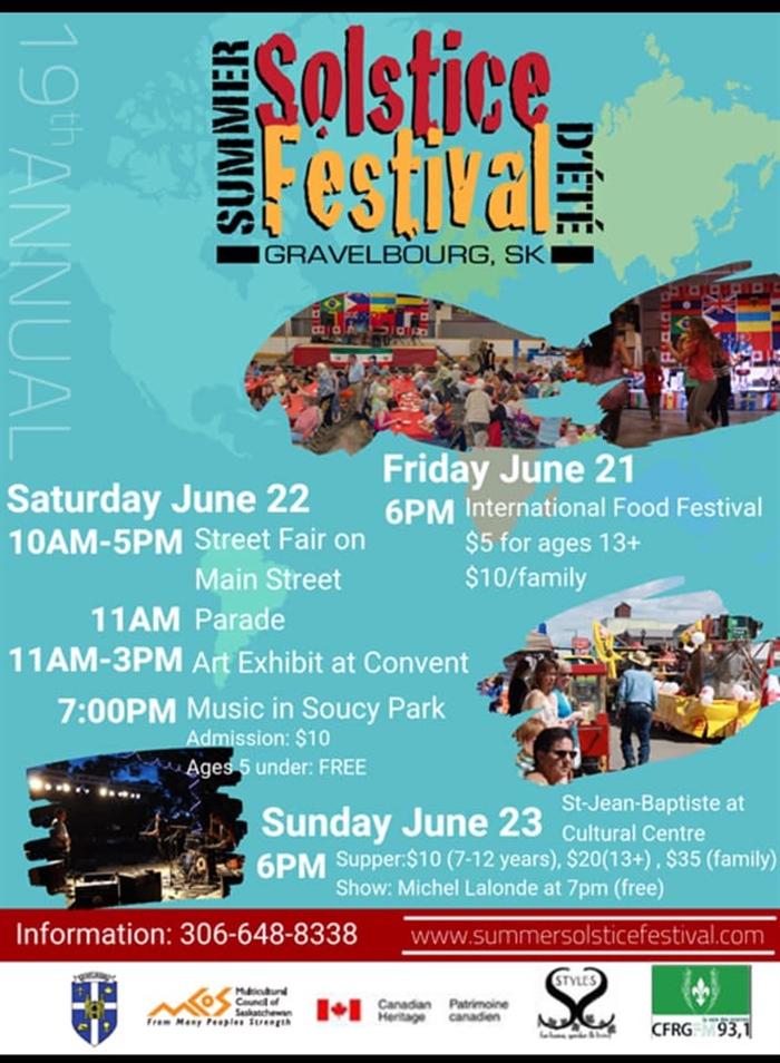 Festival Solstice d'été 2019