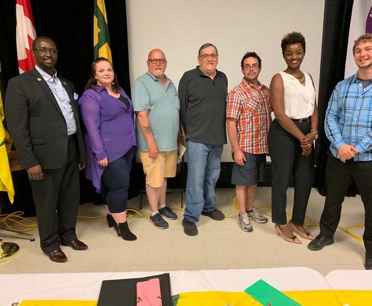 Les membres du conseil d'administration de l'ACFR élus le 29 juin 2019