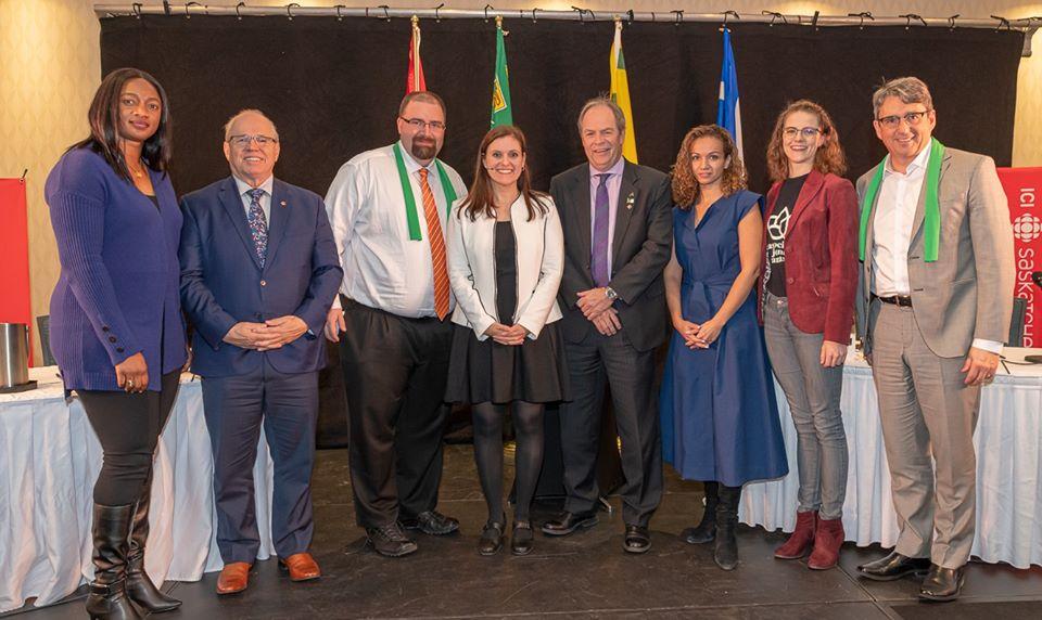 Le président de l'ACF en compagnie des membres du Panel sur l'avenir de la francophonie canadienne