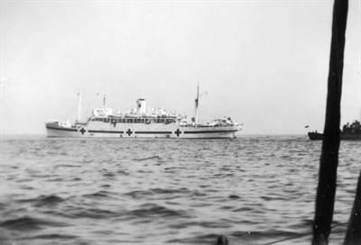 Le bateau hôpital Lady Nelson
