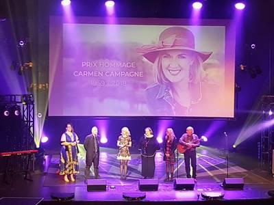 Hommage à Carmen Campagne au Gala Trille Or 2019