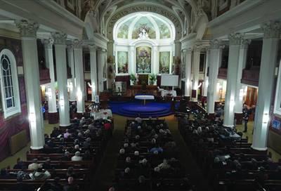 Célébration pour le centenaire de la co-cathédrale de Gravelbourg