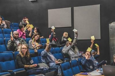 Plus d'une centaine de personnes ont pris part au symposium de l'Association des parents fransaskois.
