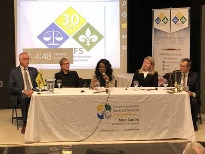 Panel sur 30 ans d'accès à la justice en français en Saskatchewan