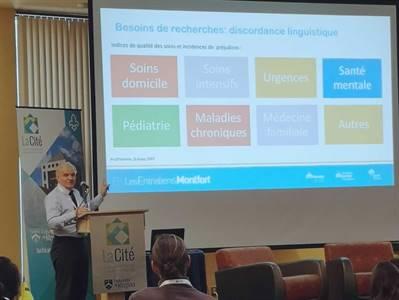 La Cité francophone a accueilli un colloque national sur l'offre active de services de santé en français