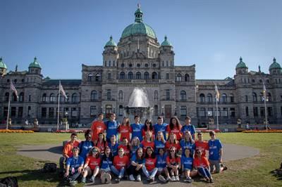 Le Forum des jeunes ambassadeurs 2019 s'est déroulé à Victoria