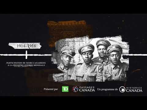L'HISTOIRE DES NOIRS AU CANADA : UNE CHRONOLOGIE SÉLECTIVE