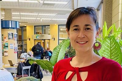 Jeanne Dumas, coordinatrice des projets pour le CNFS à La Cité universitaire francophone de l'Université de Regina