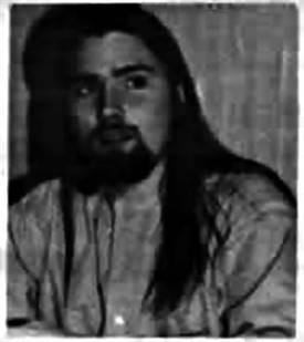 Denis Simard, président de l'Association jeunesse fransaskoise en 1997