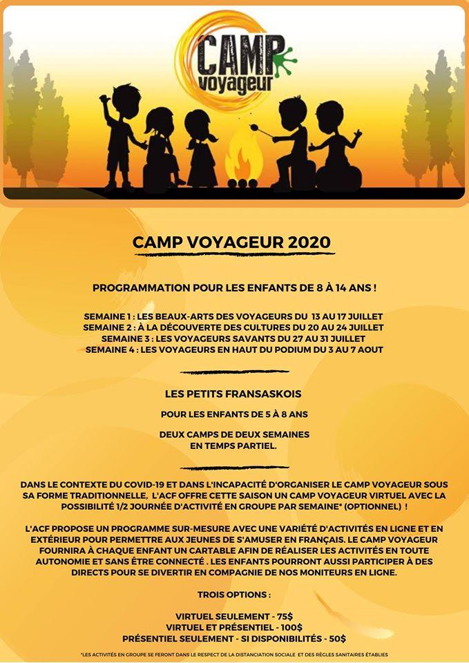 Camp Voyageur 2020
