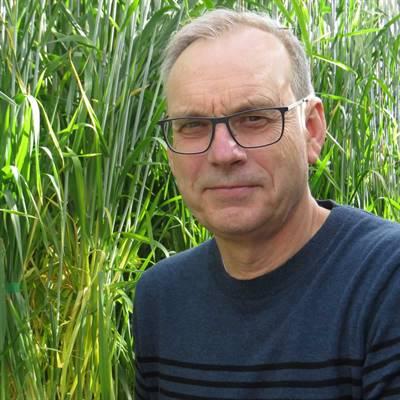 Le professeur de l'Université de la Saskatchewan et sélectionneur de blé Pierre Hucl.