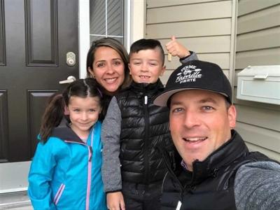 La famille Parker, le jour de la rentrée scolaire