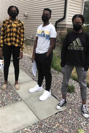 Les enfants de Sylvie-Niyongere