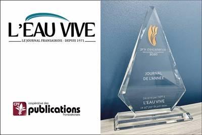 Prix journal de l'année de l'APF 2020