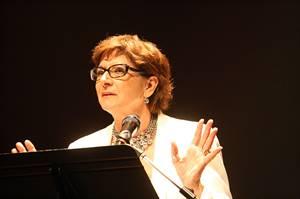 Françoise Sigur-Cloutier, présidente de l'Assemblée communautaire fransaskoise